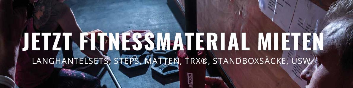 fitnessmaterial-mieten