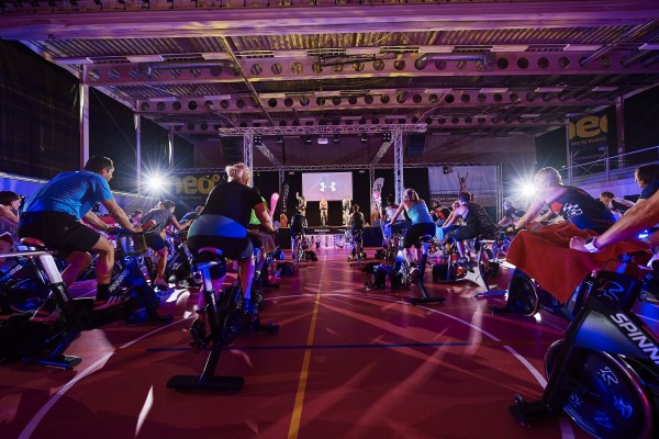 Kraftakt On Fire – Spinning Marathon