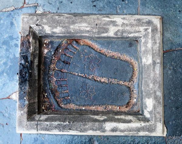 vishnus feet